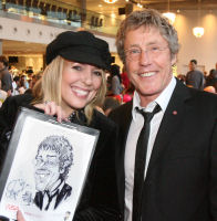 Luisa with Roger Daltrey