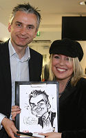 Luisa with Alan Smith