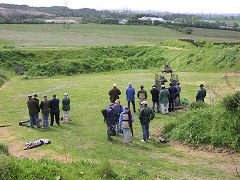 Clay Pigeon Shooting School Grounds